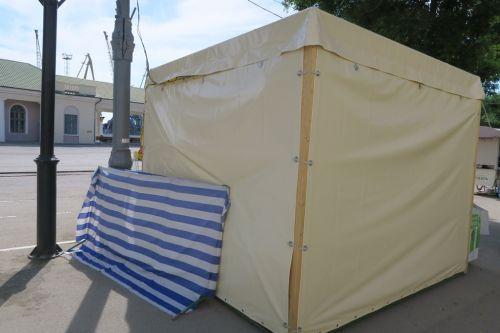 Палатки привокзальные